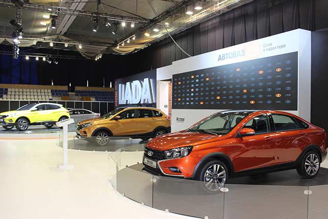 LADA примет участие в автомобильной выставке MOTOREXPO 2018